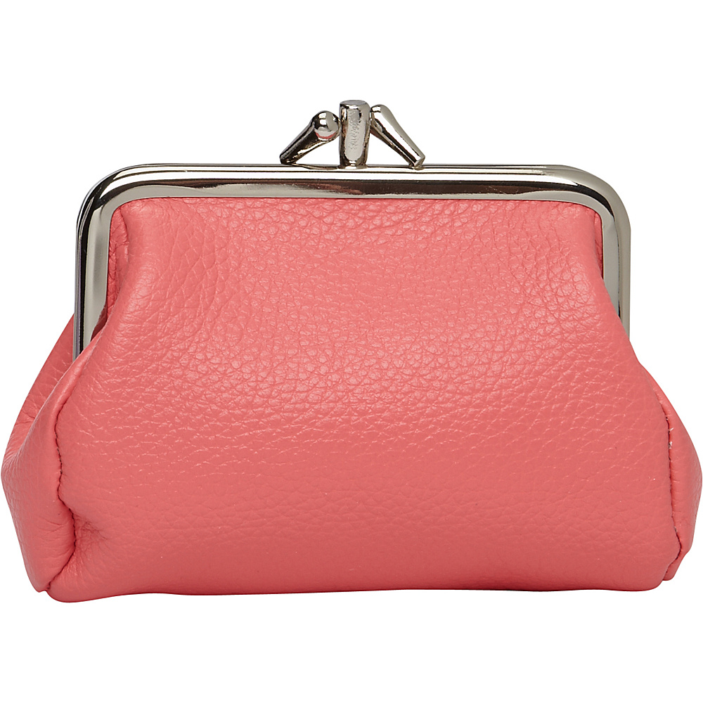 Buxton Hudson Pik-Me-UpTriple Frame- Exclusive Colors Sugar Coral - Buxton Womens Wallets - Women's SLG, Women's Wallets