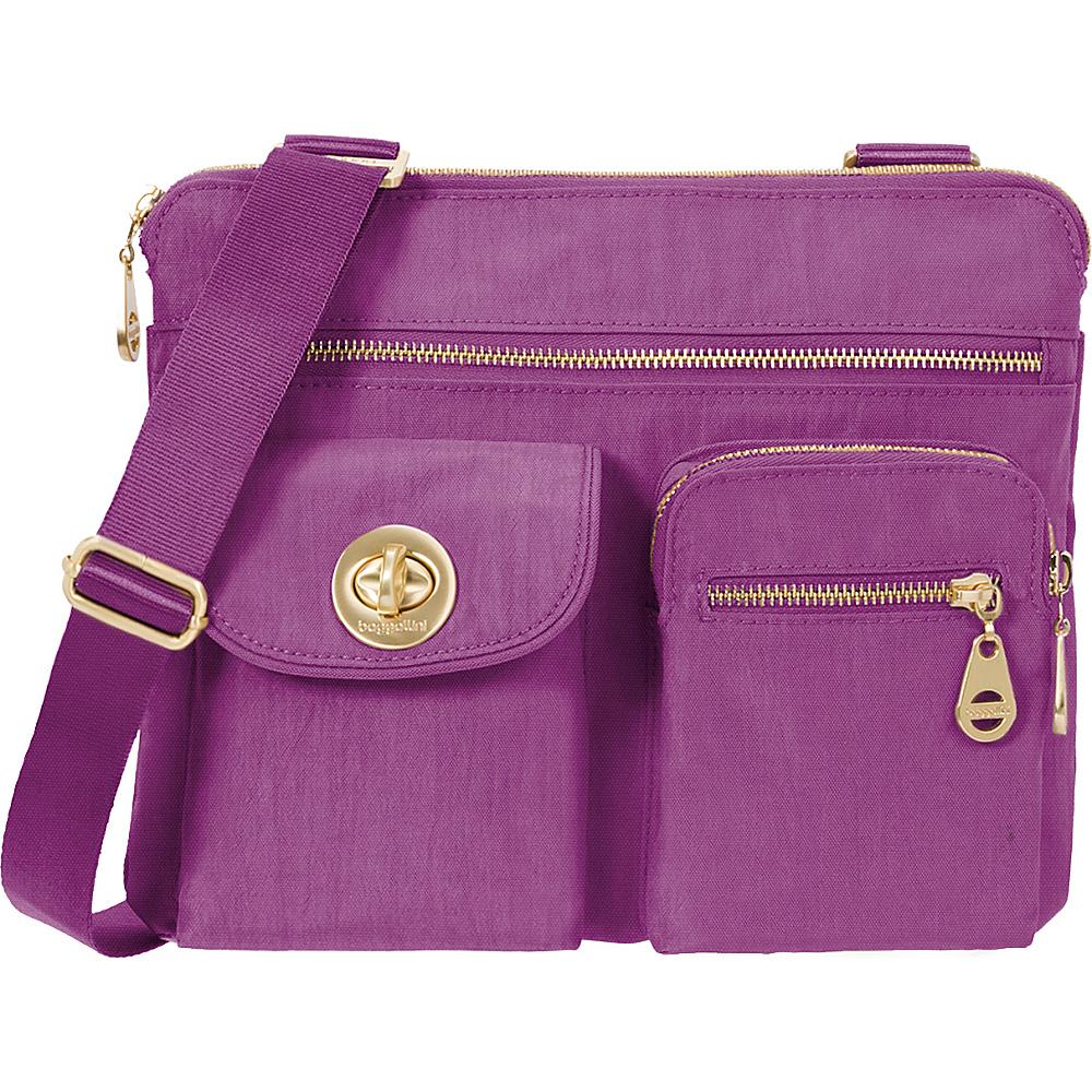 baggallini Gold Sydney Crossbody Magenta - baggallini Fabric Handbags - Handbags, Fabric Handbags