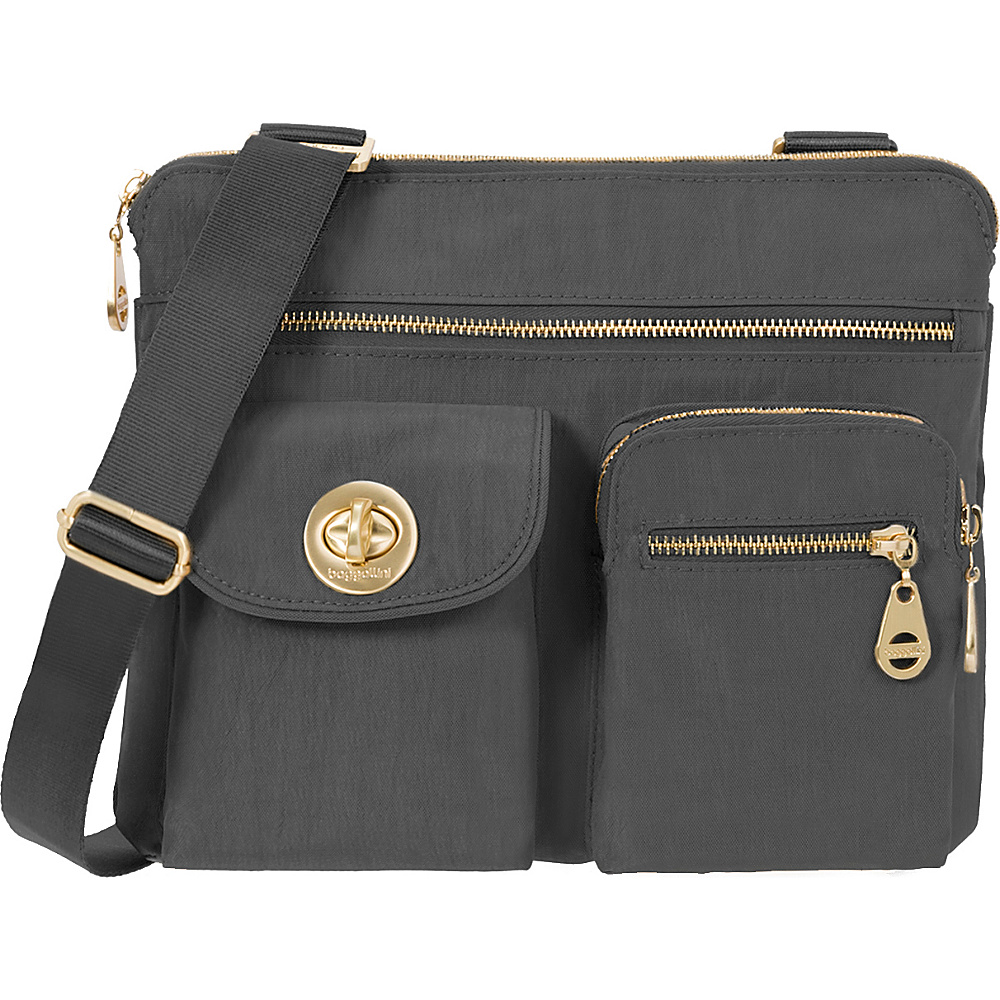 baggallini Gold Sydney Charcoal baggallini Fabric Handbags