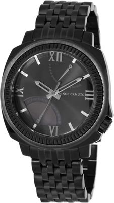 Vince Camuto Watches The Veteran Watch Black/Titanium/Black - Vince Camuto Watches Watches