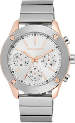 Vince Camuto Watches Stainless Steel Multi-Function Bracelet Watch Silver/Silver/Silver - Vince Camuto Watches Watches