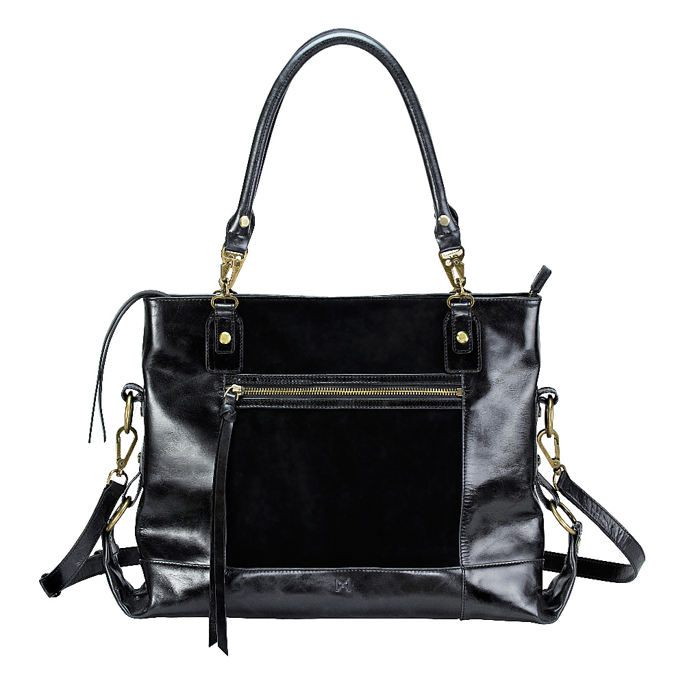MOFE Eunoia Shoulder Bag Black Brass MOFE Leather Handbags