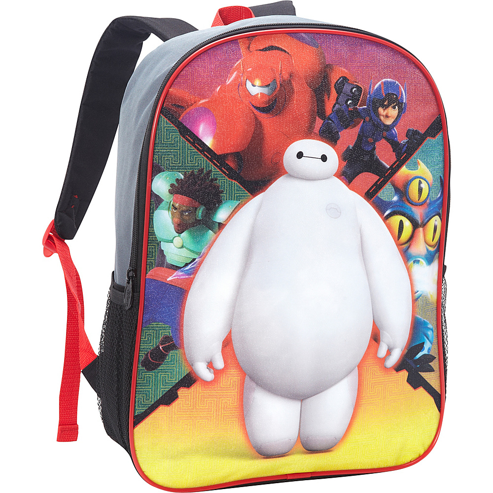 Disney Big Hero 6 Backpack Red - Disney School & Day Hiking Backpacks