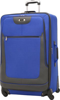 Skyway Epic 28 inch 4-Wheel Expandable Upright Surf Blue - Skyway Softside Checked