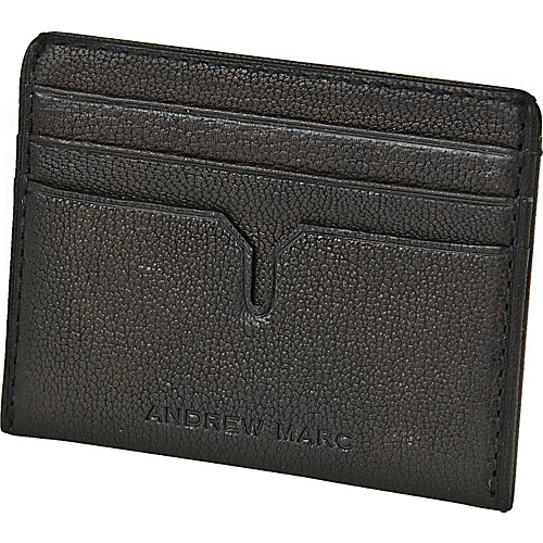 Andrew Marc Collection Bowery Slim Cardcase Smog - Andrew Marc Collection Mens Wallets