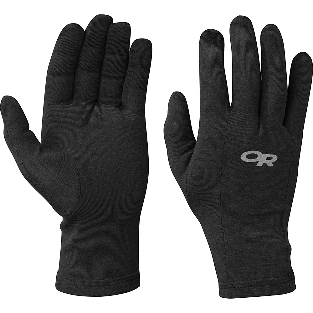 Outdoor Research Catalyzer Liners M - Black - Outdoor Research Hats/Gloves/Scarves - Fashion Accessories, Hats/Gloves/Scarves