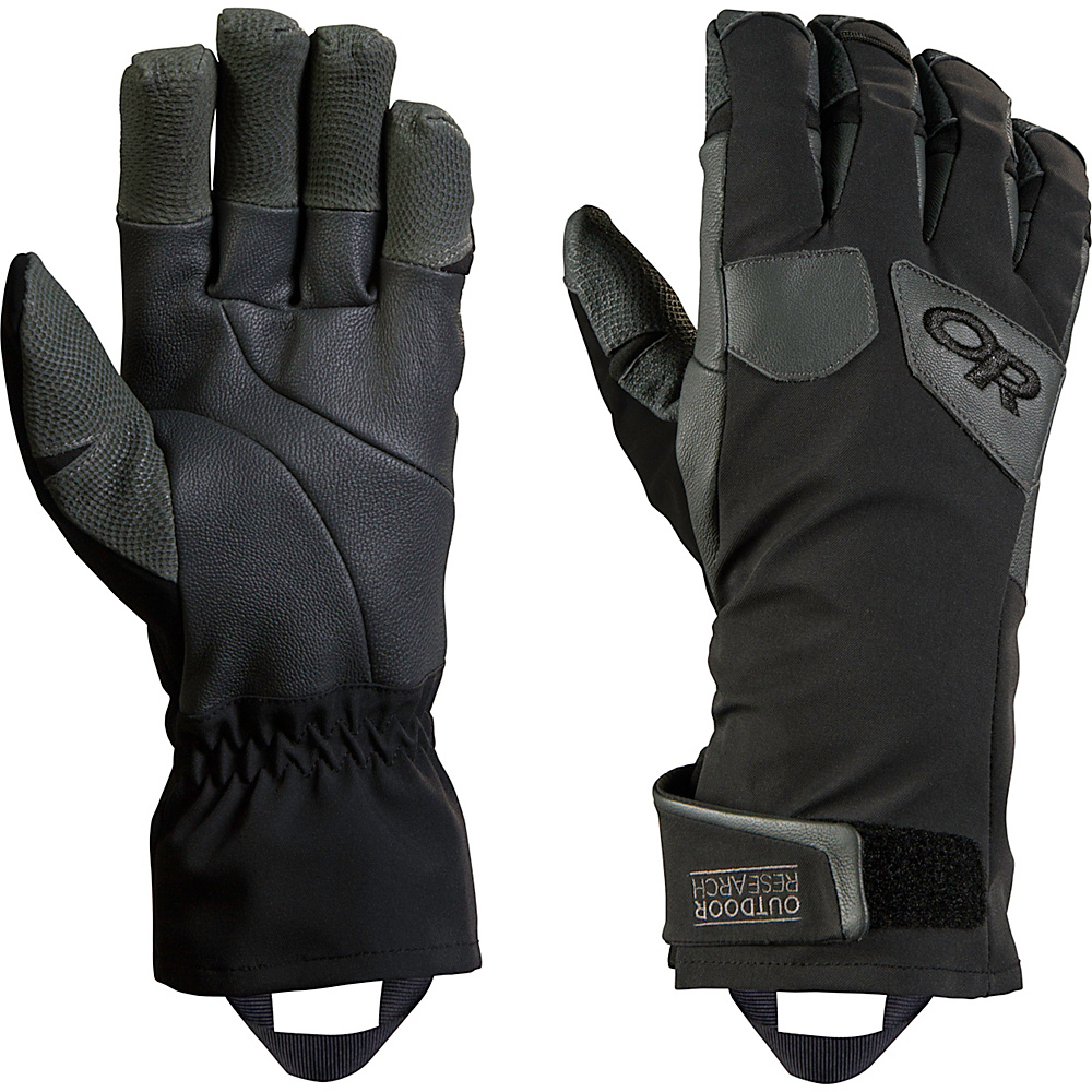 Outdoor Research Extravert Gloves S - Black/Charcoal - Outdoor Research Hats/Gloves/Scarves - Fashion Accessories, Hats/Gloves/Scarves