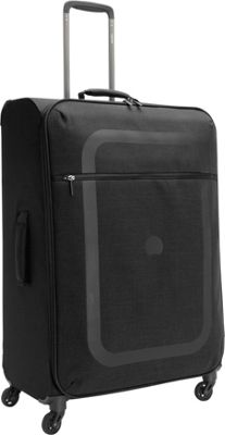 Delsey Dauphine+ 27.5 Spinner Trolley Black - Delsey Softside Checked