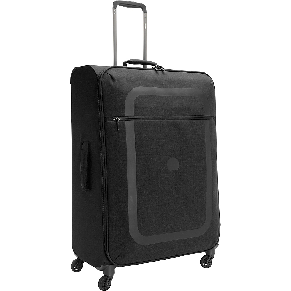 Delsey Dauphine 27.5 Spinner Trolley Black Delsey Softside Checked