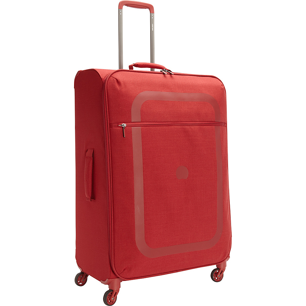 Delsey Dauphine 27.5 Spinner Trolley Red 04 Delsey Softside Checked