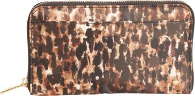 LeSportsac Signature Chrissy Wallet Bronze Leopard - LeSportsac Ladies Small Wallets