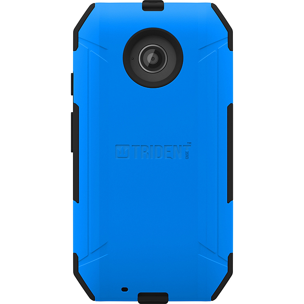 Trident Case Aegis Phone Case for Motorola Moto E Blue Trident Case Electronic Cases