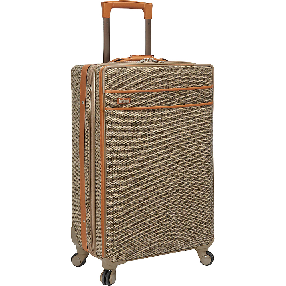 "Hartmann Luggage Tweed Collection 27"" Medium Journey Expandable Spinner Tweed - Hartmann Luggage Softside Checked"