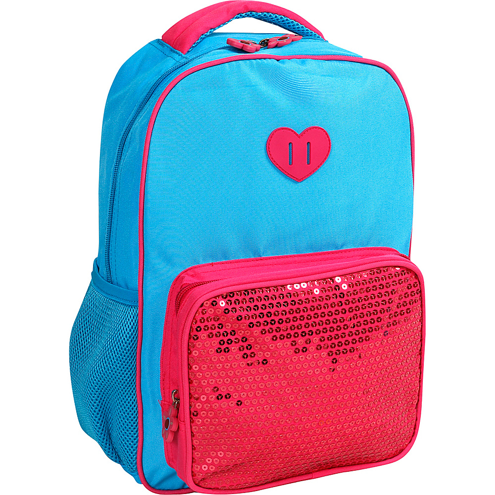 J World New York Sprinkle Kids Backpack Sky Blue - J World New York Everyday Backpacks - Backpacks, Everyday Backpacks