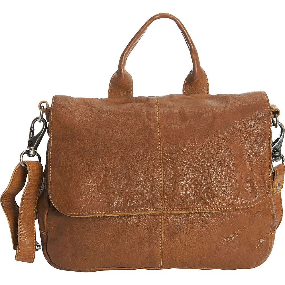 Latico Leathers Charlton Crossbody Tan - Latico Leathers Leather Handbags - Handbags, Leather Handbags