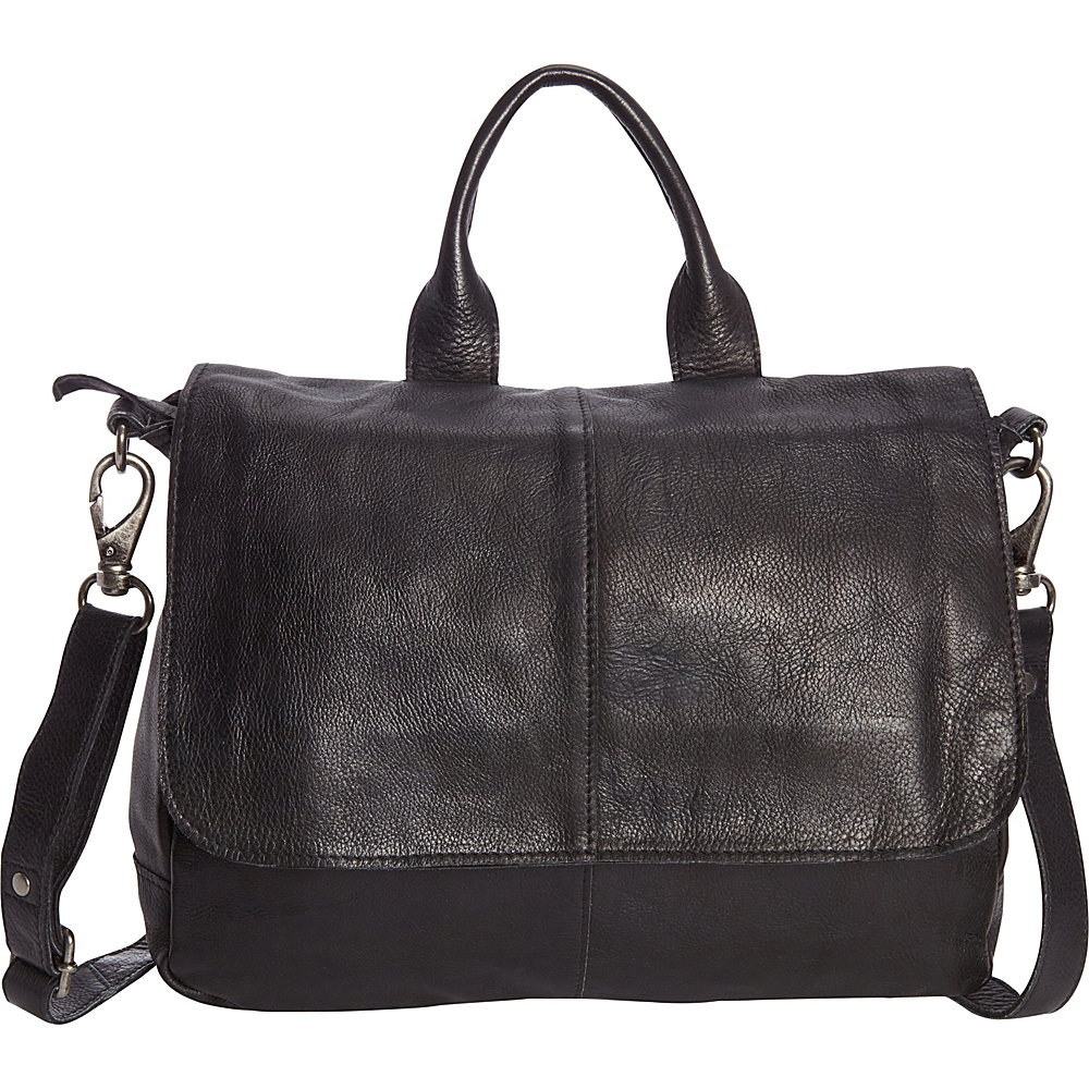 Latico Leathers Charlton Crossbody Black - Latico Leathers Leather Handbags - Handbags, Leather Handbags