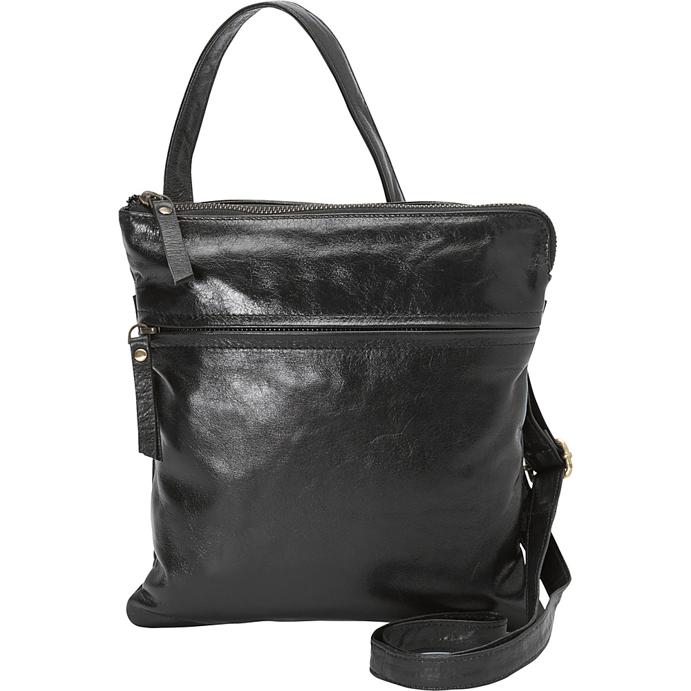 Latico Leathers Lexton Crossbody Black - Latico Leathers Leather Handbags - Handbags, Leather Handbags