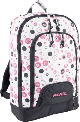 Fuel Fuel Triple Pocket Backpack Pink Molecule - Fuel Everyday Backpacks