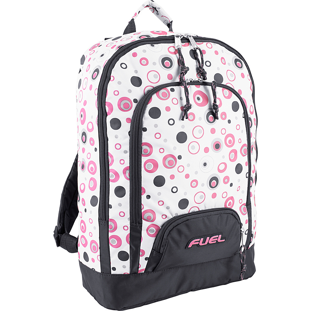 Fuel Triple Pocket Backpack Pink Molecule Fuel Everyday Backpacks