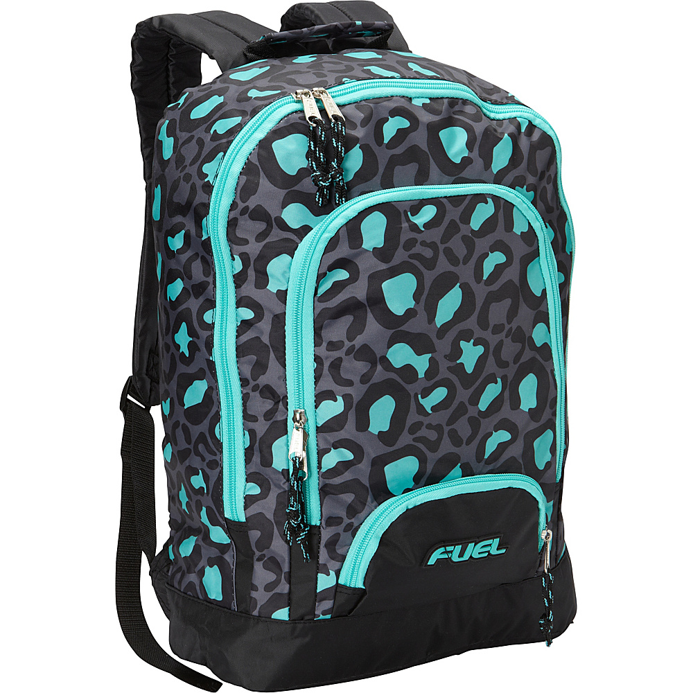 Fuel Triple Pocket Backpack Leopard Tie Dye Fuel Everyday Backpacks