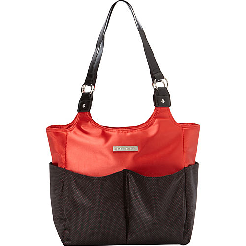 smart mommy bags red hot sizzle diaper bag. Black Bedroom Furniture Sets. Home Design Ideas