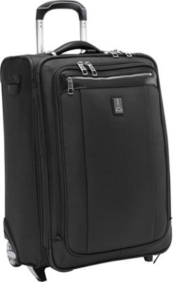 Travelpro Platinum Magna 2 Expandable Rollaboard Luggage - 22 inch Black - Travelpro Softside Carry-On