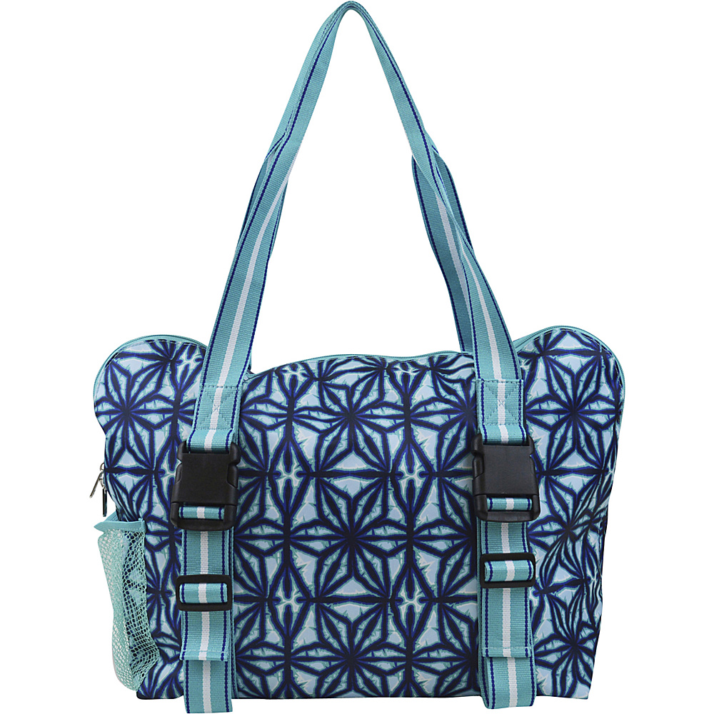 All For Color Yoga Tote Indigo Batik All For Color Other Sports Bags