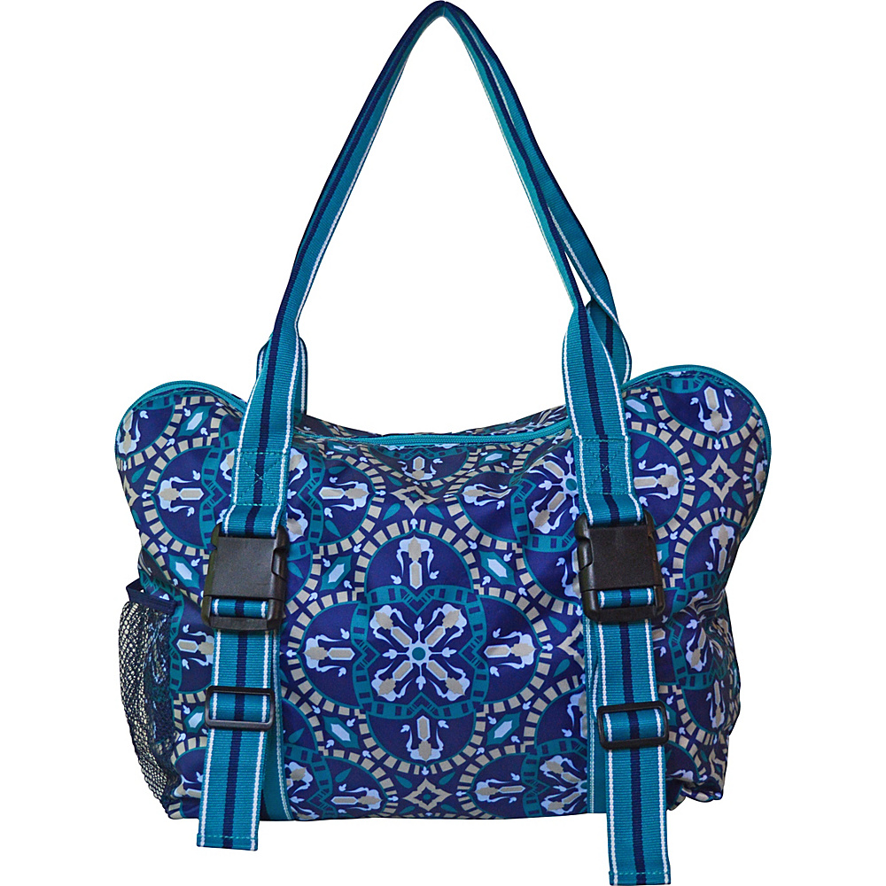 All For Color Yoga Tote Artisan Tile All For Color Other Sports Bags