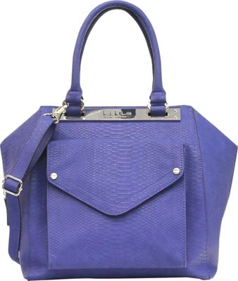 Image of Nicole Miller New York Hot Plate Satchel Night Sky - Nicole Miller New York Manmade Handbags