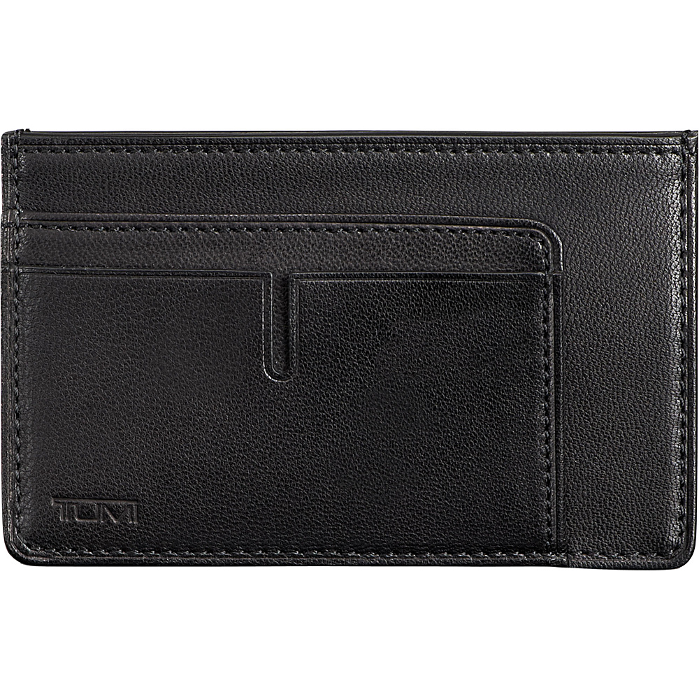 Tumi Chambers Long Card Case Black Tumi Men s Wallets