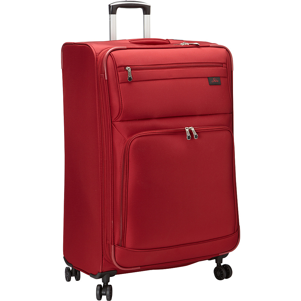 Skyway Sigma 5.0 29 4 Wheel Expandable Upright Merlot Red Skyway Softside Checked