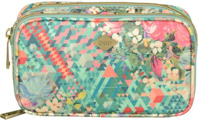 Image of Oilily Cosmetic Case Mint - Oilily Ladies Cosmetic Bags