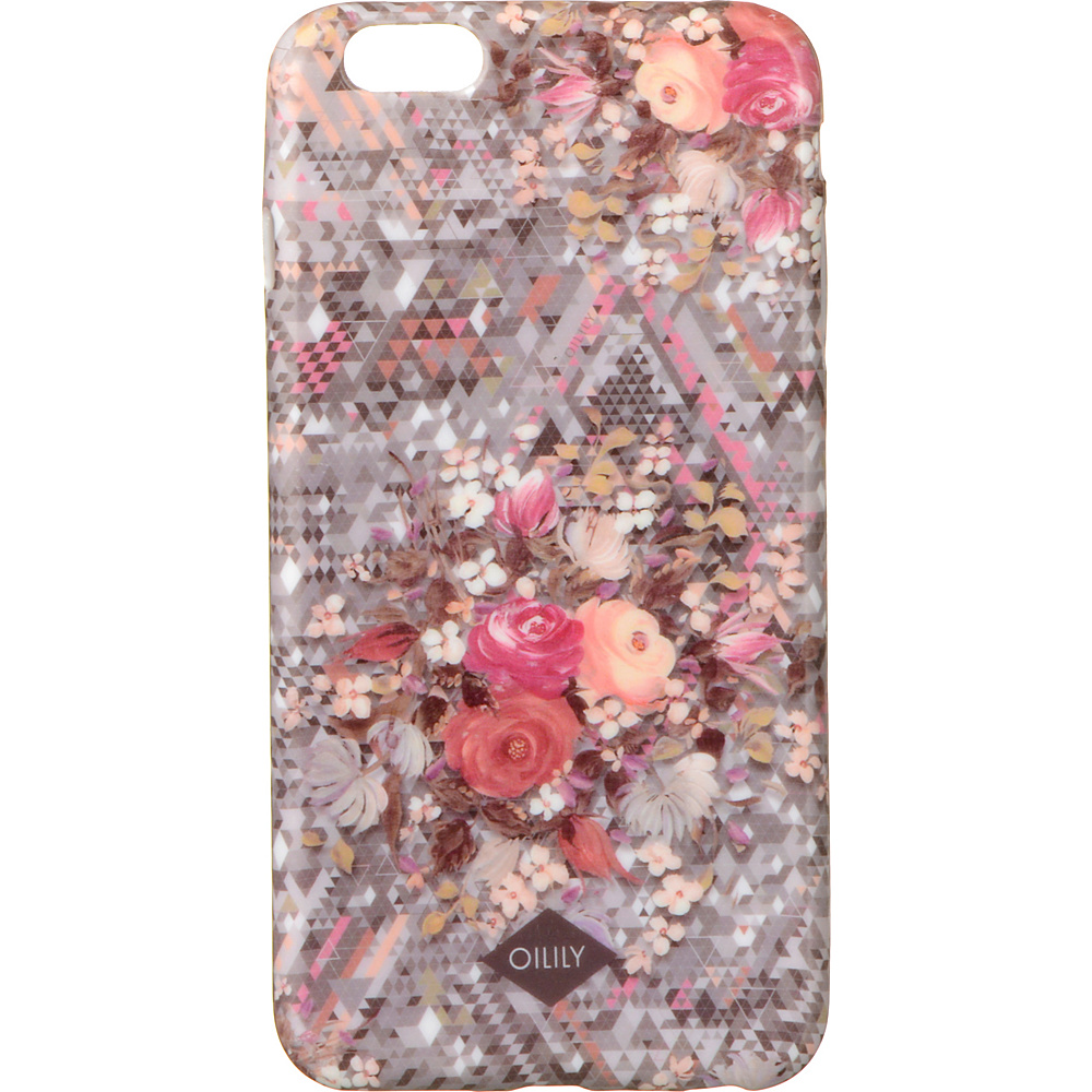 Oilily iPhone 6 Plus Case Silver Oilily Electronic Cases