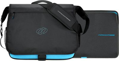MacCase 13 inch MacBook Pro Messenger Bag with Sleeve Black - MacCase Messenger Bags