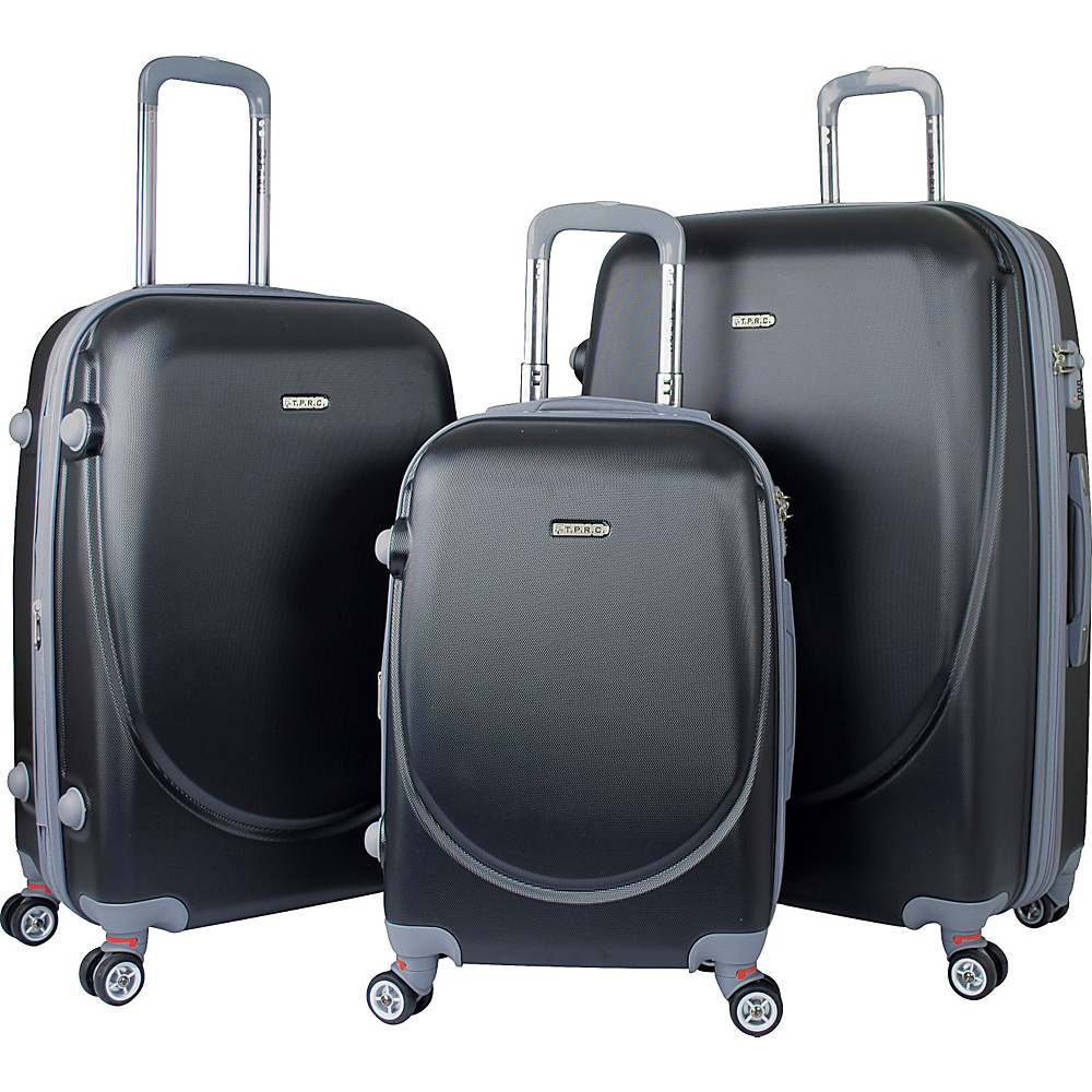 Travelers Club Barnet 2.0 3-Piece Hardside Spinner Luggage Set (Cobalt)