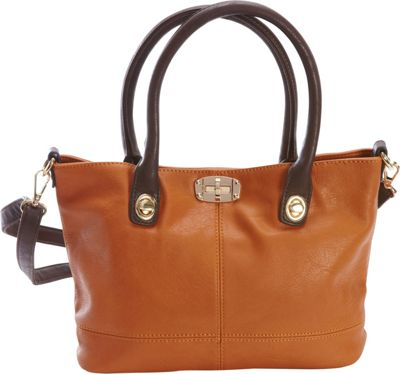 Diophy Convertible Tote Brown - Diophy Manmade Handbags