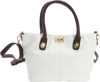 Diophy Convertible Tote White - Diophy Manmade Handbags