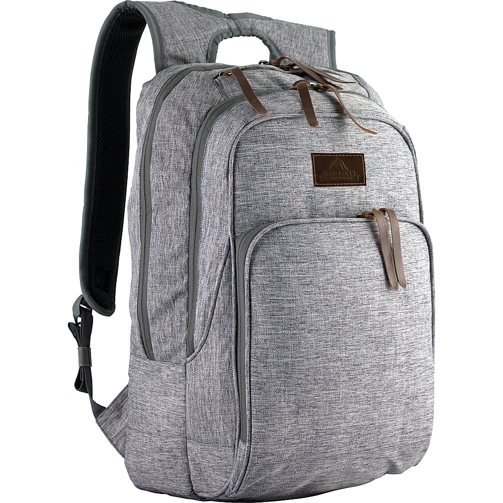 Red Rock Outdoor Gear Segundo Commuter Laptop Backpack Gray Linen - Red Rock Outdoor Gear Business & Laptop Backpacks