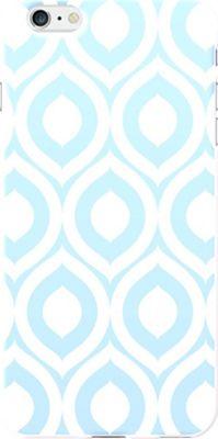Centon Electronics OTM Glossy White iPhone 6 Plus Case Ziggy Collection - Aqua - Centon Electronics Electronic Cases