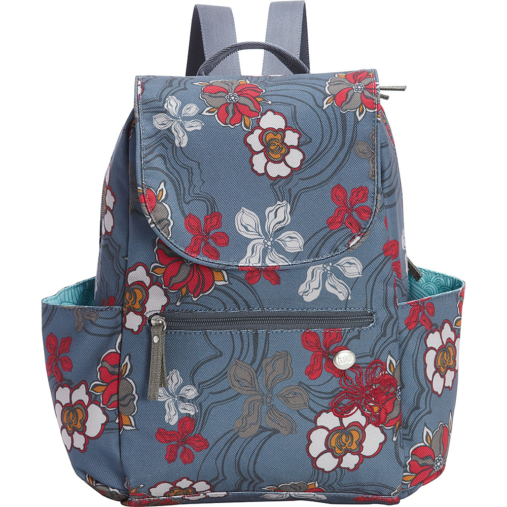 Haiku Roam Mini Backpack River Floral Print - Haiku Fabric Handbags