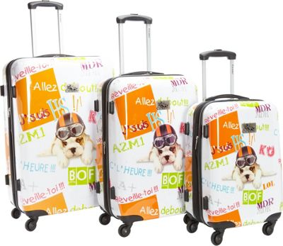Chariot Fly Dog 3Pc Luggage Set DOG - Chariot Luggage Sets