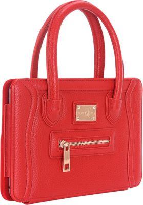 Sandy Lisa Charleston Clutch - iPad Mini Red - Sandy Lisa Electronic Cases