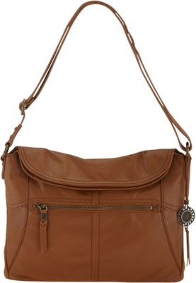 The Sak Esperato Flap Hobo Tobacco - The Sak Leather Handbags