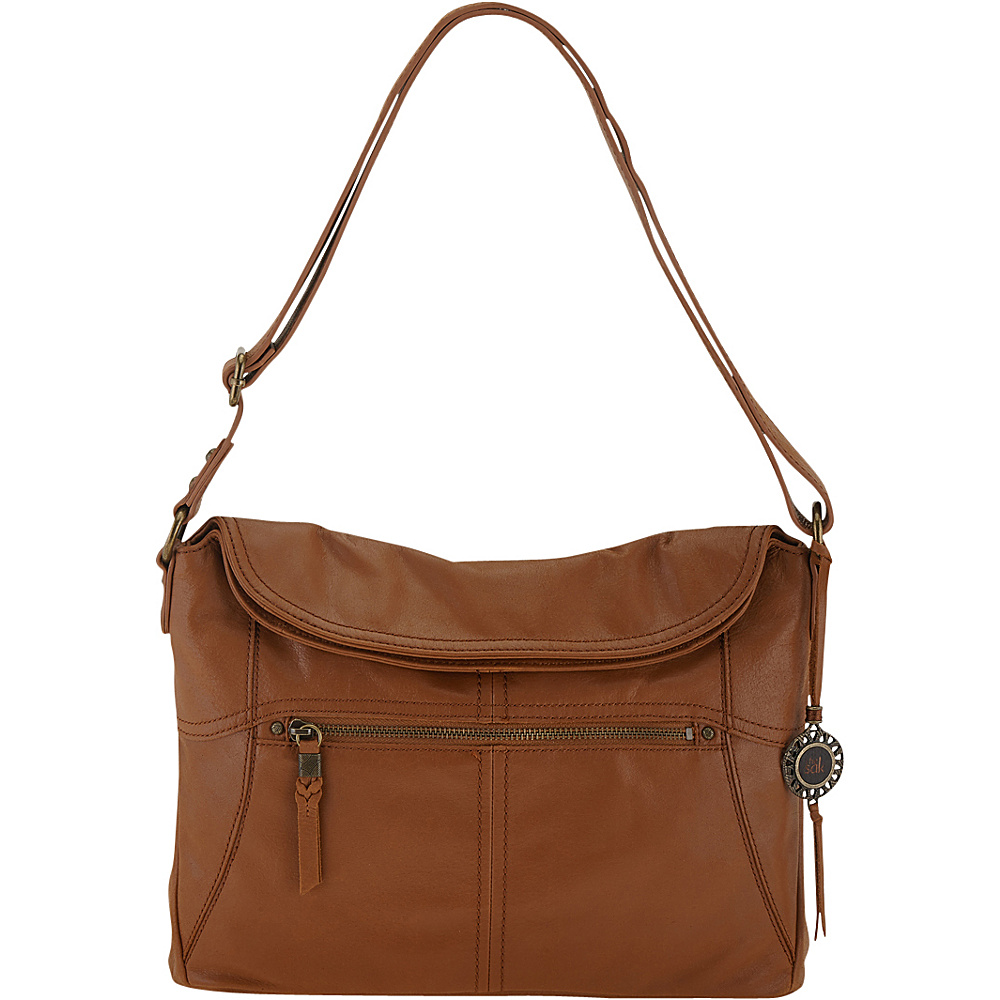 The Sak Esperato Flap Hobo Tobacco The Sak Leather Handbags