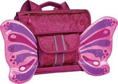 Bixbee Small Sparkalicious Kids Glitter Butterflyer Backpack Raspberry - Bixbee Kids' Backpacks