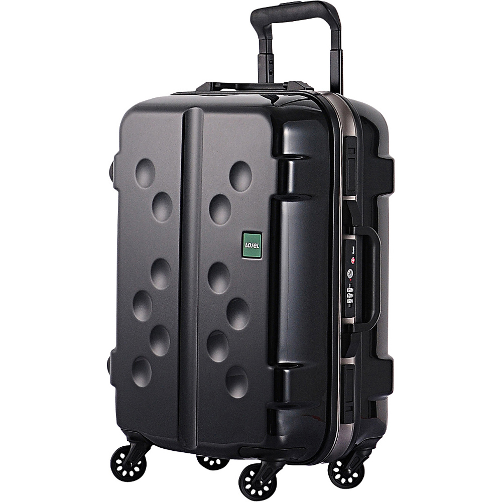 Lojel Carapace Carry On Black Lojel Hardside Carry On