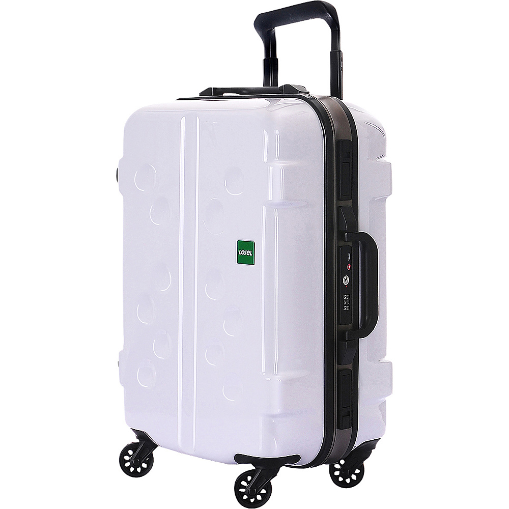 Lojel Carapace Carry On White Lojel Hardside Carry On