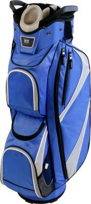 Datrek DG Lite Cart Bag Royal/Silver/White - Datrek Golf Bags