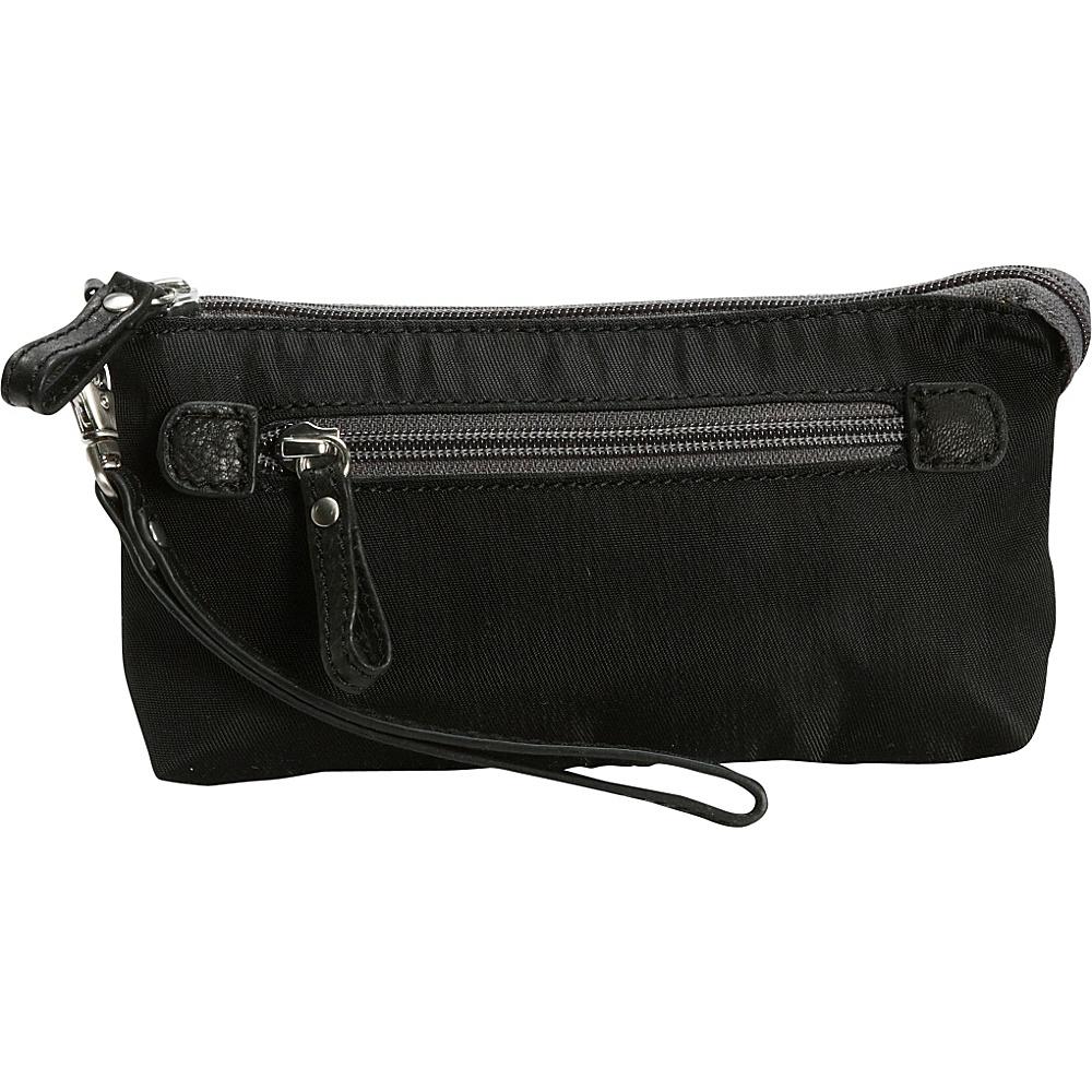 Osgoode Marley Wristlet Black Osgoode Marley Fabric Handbags