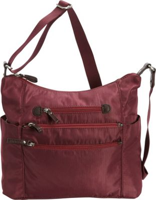 Osgoode Marley Osgoode Marley Everyday Tote Cranberry - Osgoode Marley Fabric Handbags